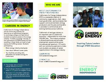 Careers in Energy brochure - Los Angeles-thumbnail