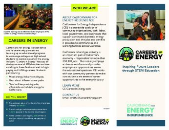 Careers in Energy brochure - central coast-thumbnail