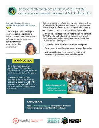 Partners in Promoting STEM Education in LA - spanish-thumbnail